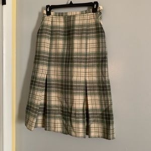 Jane Marcus vintage 100% wool skirt